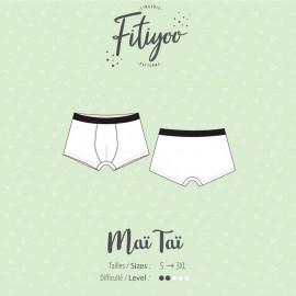 Fitiyoo Sewing Pattern - Maï Taï Trunk