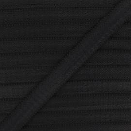 20 mm Lingerie bra elastic - black x 1m