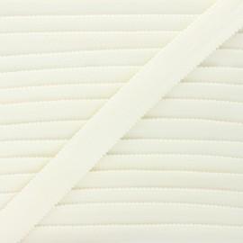 20 mm Lingerie bra elastic - raw x 1m