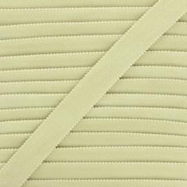 20 mm Lingerie bra elastic - almond green x 1m