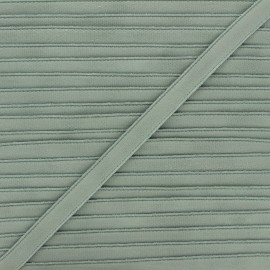 Lingerie elastic - grey green Linaya x 1m