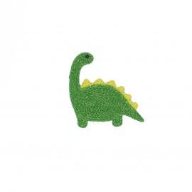 Thermocollant brodé lurex - Dinosaure