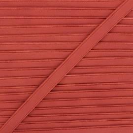 Lingerie elastic - red brick Linaya x 1m