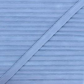 Lingerie elastic - bleuet Linaya x 1m