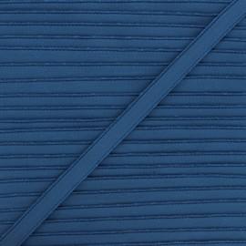 Elastique lingerie Linaya - bleu pétrole x 1m