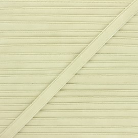 Lingerie elastic - almond green Linaya x 1m