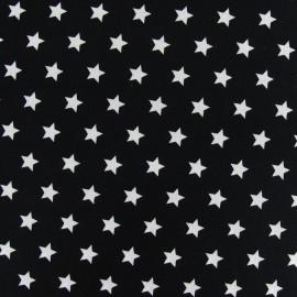 Tissu étoiles Magic noir x 10cm