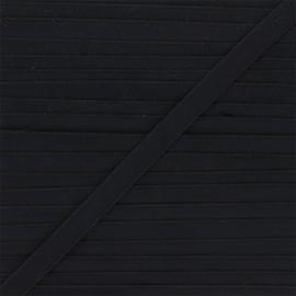 Lingerie elastic - black Linaya x 1m