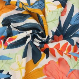 Viscose fabric Atelier Jupe - pearl grey Tuléar x 10cm