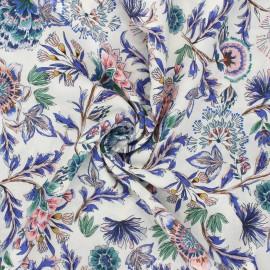 Tissu viscose Atelier Jupe Mayra - écru x 10cm