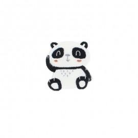Thermocollant brodé - Panda