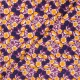 Tissu coton Cotton Steel Glory - Joani - violet x 10cm