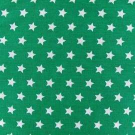 Tissu étoiles Magic vert prairie x 10cm