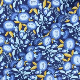 Tissu coton Cotton Steel Glory - Isla - bleuet x 10cm