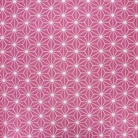 Tissu coton cretonne enduit Casual - violine x 10cm