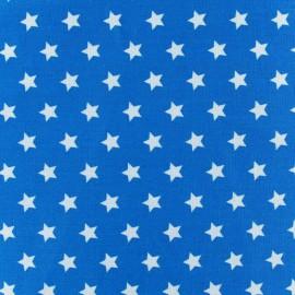 Tissu étoiles Magic turquoise x 10cm