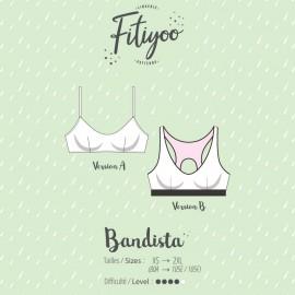 Fitiyoo Sewing Pattern - Bandista sport bra