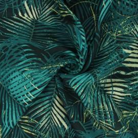 Tissu rayonne AGF Boscage - Palm paradise x 10cm