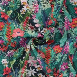Tissu rayonne AGF Boscage - Lush rainforest x 10cm