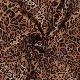 AGF rayon fabric Boscage - Fera essence x 10cm