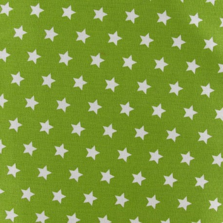 Magic Stars Fabric - Moss Green x 10cm