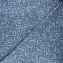Dear Stella cotton fabric - indigo Jax x 10cm