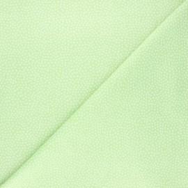 Tissu coton Dear Stella Jax - vert clair x 10cm