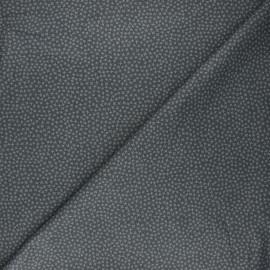 Dear Stella cotton fabric - dark grey Jax x 10cm