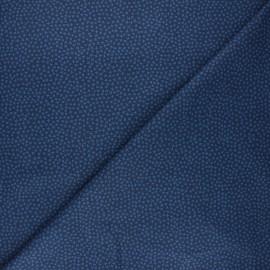 Tissu coton Dear Stella Jax - bleu nuit x 10cm
