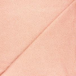 Tissu coton Dear Stella Jax - rose thé x 10cm