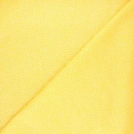 Tissu coton Dear Stella Jax - jaune mimosa x 10cm