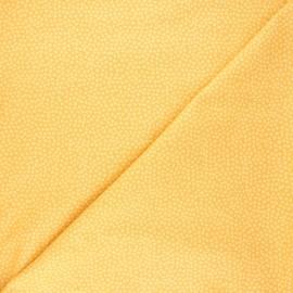 Tissu coton Dear Stella Jax - jaune moutarde x 10cm