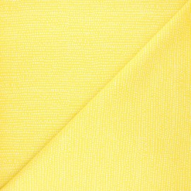 Dear Stella cotton fabric - mimosa yellow Moonscape x 10cm