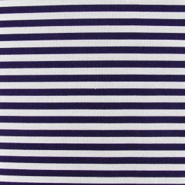 Stripes fabric 5mm - red/white x 10cm