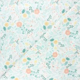 Tissu coton Dear Stella Sew on & sew forth - Sew lovely - blanc x 10cm
