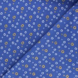 Cotton Steel cotton fabric Mountains, rocks, and pebbles - blue River pebbles x 10cm