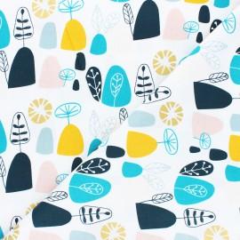 Tissu coton Cotton Steel Mountains, rocks, and pebbles - Rocky mountians - multicolore x 10cm