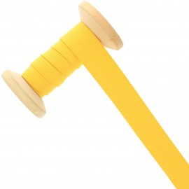 20 mm Knitted Elastic Roll - Yellow
