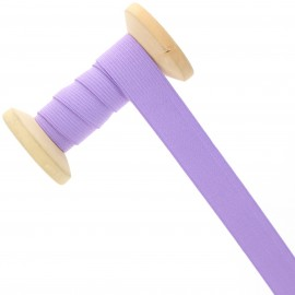 20 mm Knitted Elastic Roll - Lilac