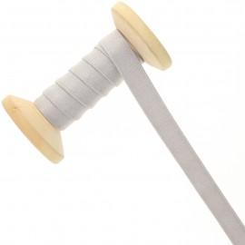 Bretelle lingerie élastique 12 mm - gris - Bobine de 15 m
