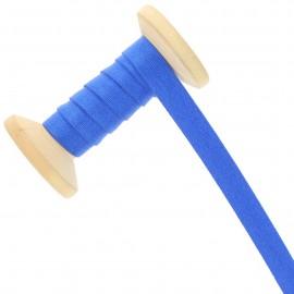 Bretelle lingerie élastique 12 mm - bleu roi - Bobine de 15 m