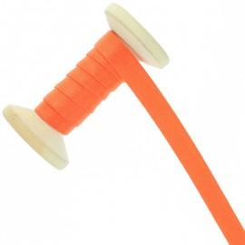 Bretelle lingerie élastique 12 mm - orange éclatant - Bobine de 15 m