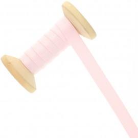 Bretelle lingerie élastique 12 mm - rose clair - Bobine de 15 m