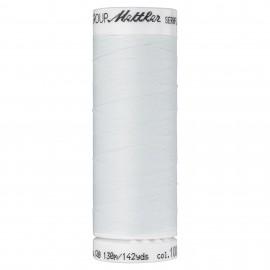 Bobine de fil élastique Mettler Seraflex 130m - N°1000 - blanc cassé