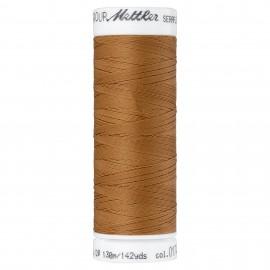 Bobine de fil élastique Mettler Seraflex 130m - N°1121 - marron muscade