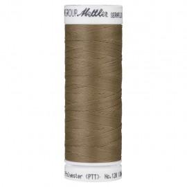 Bobine de fil élastique Mettler Seraflex 130m - N°899 - marron chataigne