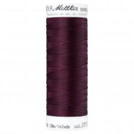 Elastic thread bobbin Mettler Seraflex 130m - N°111 - beetroot purple