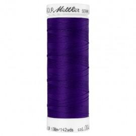 Elastic thread bobbin Mettler Seraflex 130m - N°46 - purple
