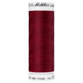 Bobine de fil élastique Mettler Seraflex 130m - N°106 - bordeaux