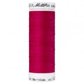 Elastic thread bobbin Mettler Seraflex 130m - N°1421 - fuchsia pink